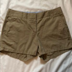Jcrew Chino khaki shorts
